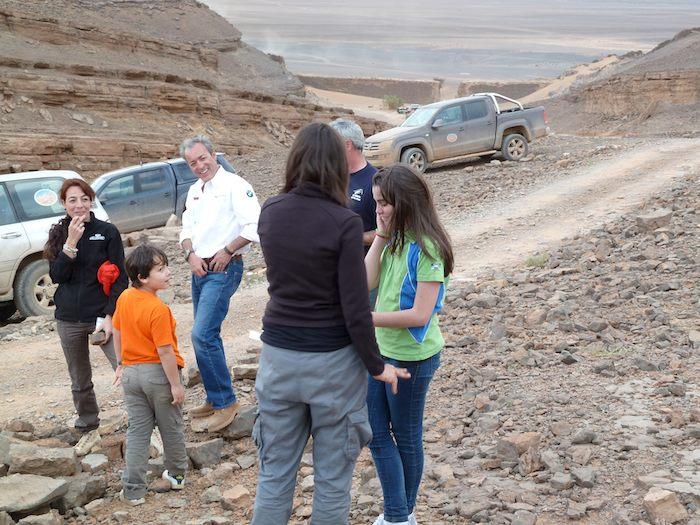 Entrevista por radio en directo desde la Montaña Momia