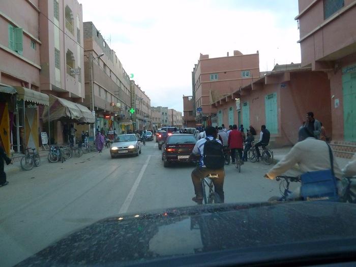 Rissani. Muchas bicicletas