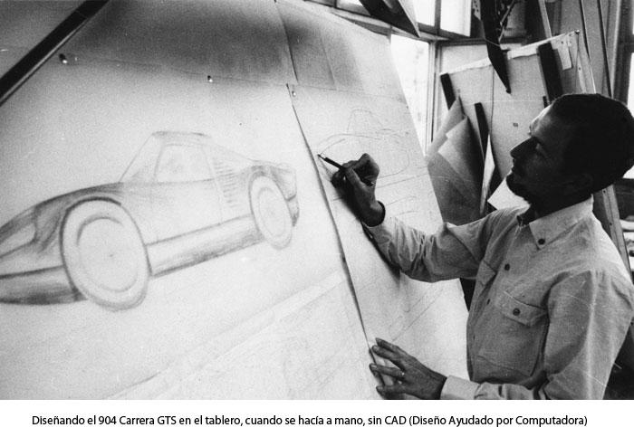 Diseño del 904 Carrera GTS
