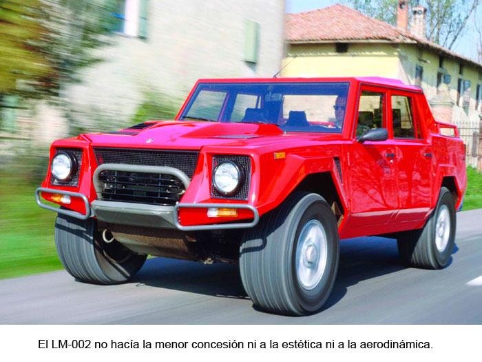 El LM-002 no hacía la menor concesión ni a la estética ni a la aerodinámica.