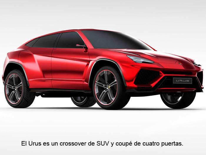 El Urus es un crossover de SUV y coupé de cuatro puertas.