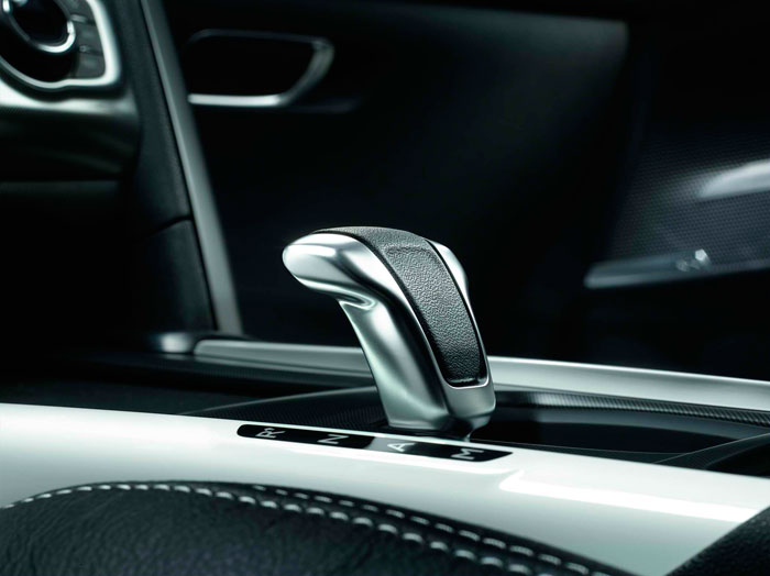Citroën DS-4 Sport 1.6-THP. Palanca de cambios
