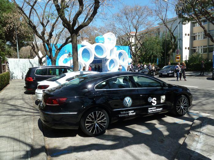 Torneo Conde de Godó 2012. Volkswagen, coche oficial.