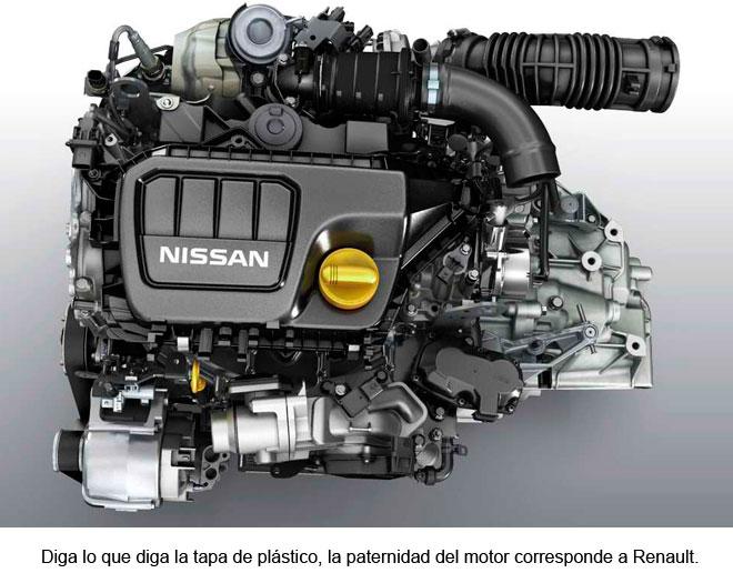 Nissan Qashqai. Motor