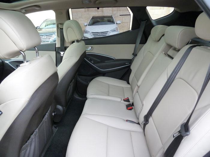 Hyundai Santa Fe. Fotos (2 de 4). Zona posterior