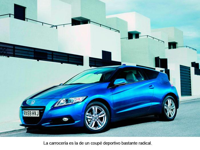 Honda CR-Z. Coupé deportivo