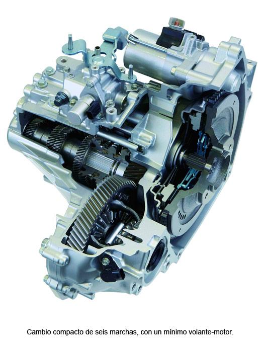Honda CR-Z. ambio compacto de seis marchas