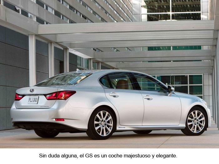 Lexus GS 450h. Vista posterior.