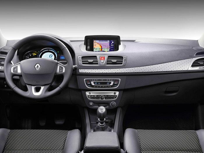 Renault Mégane. Interior, mandos volante