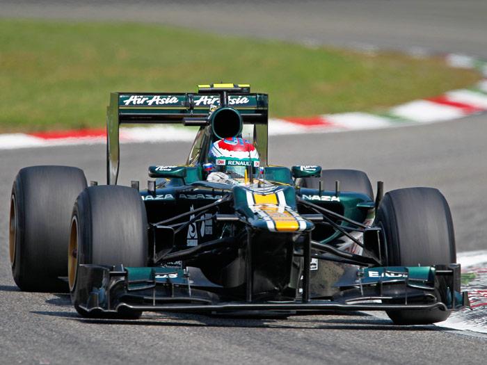 Fórmula 1. Caterham. 2012