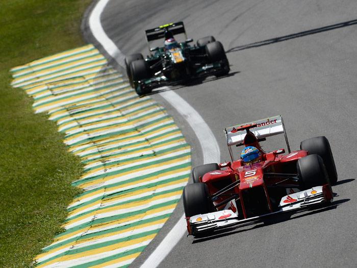 Fórmula 1. Ferrari, Alonso, Brazil, Sao Paulo