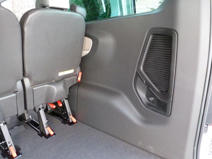 Ford Tourneo Custom. Maletero