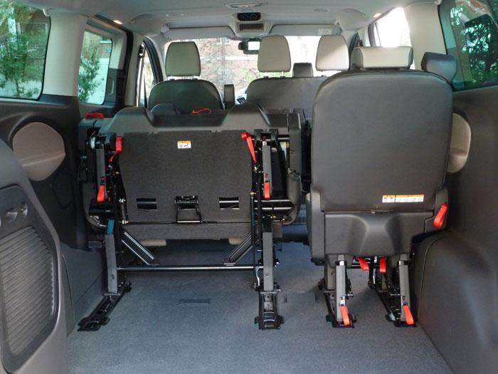 Ford Tourneo Custom. Espacio maletero
