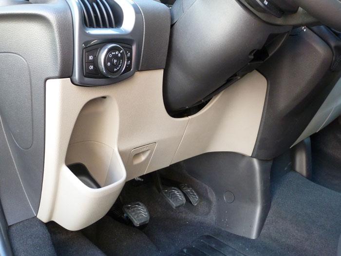 Ford Tourneo Custom. Mandos para luces