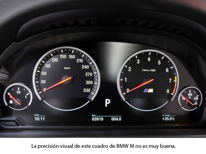 Cuadro de instrumentos del BMW M