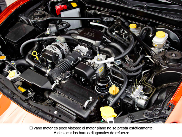 Toyota GT 86. Motor