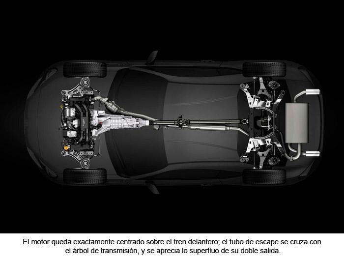 Toyota GT 86. Motor. Árbol de transmisión