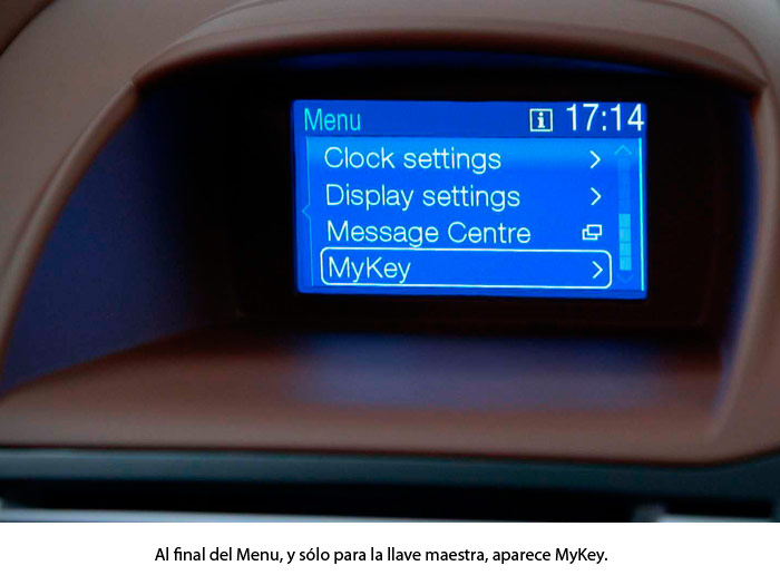 Ford Fiesta. MyKey
