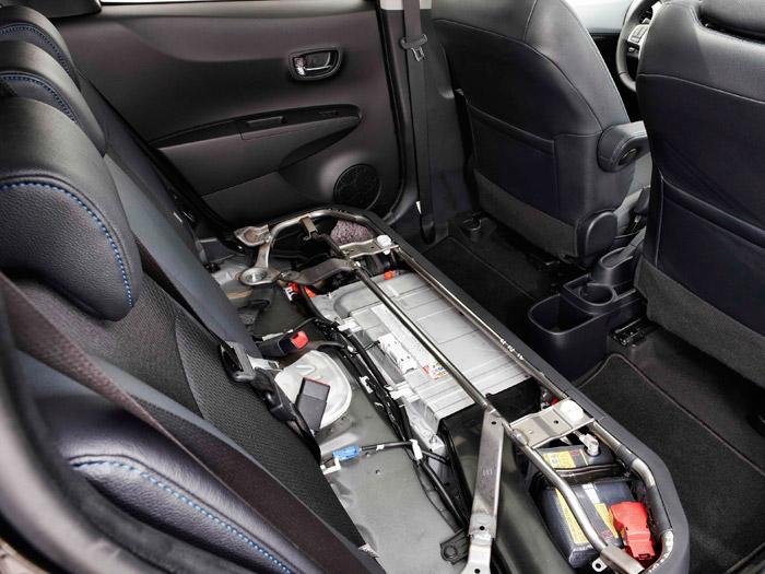 Toyota Yaris Hybrid. Baterías