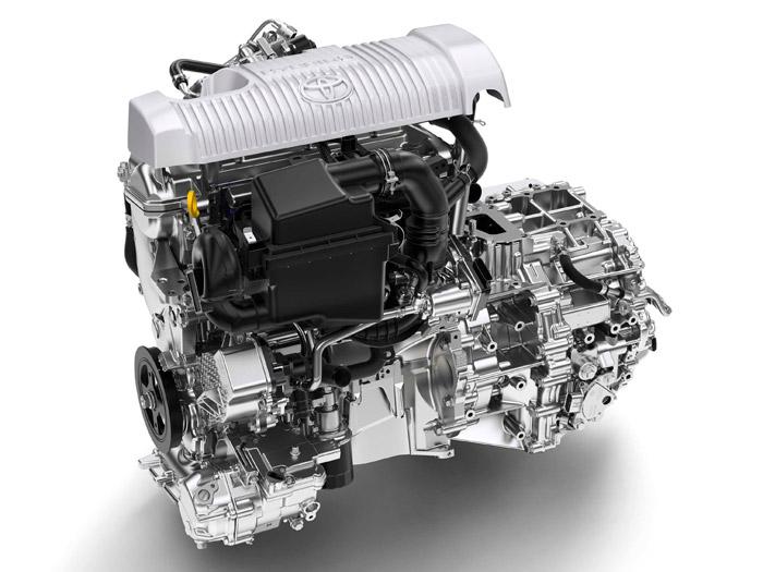 Toyota Yaris Hybrid. Motor