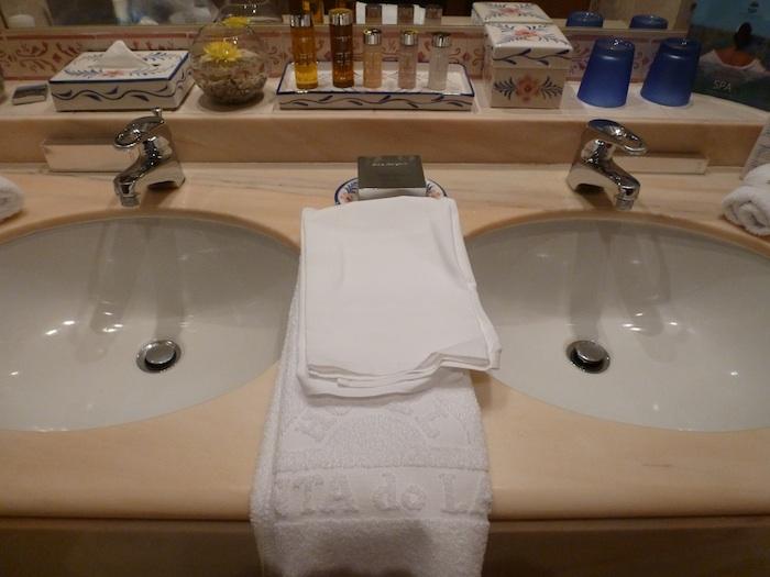 Dos toallas. Hotel Quinta do lago. Almancil. Portugal.