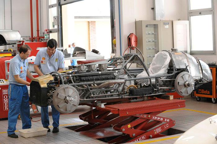 Restauración del 375 Indy de 1953