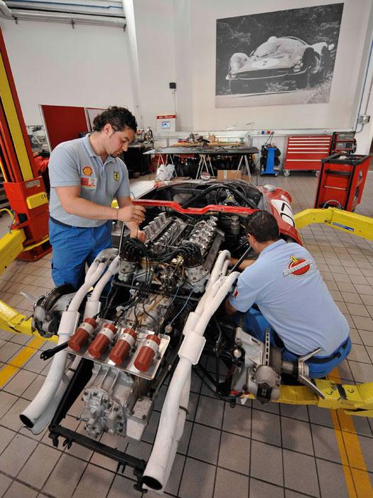 Rematando un Sport-Prototipo de motor central
