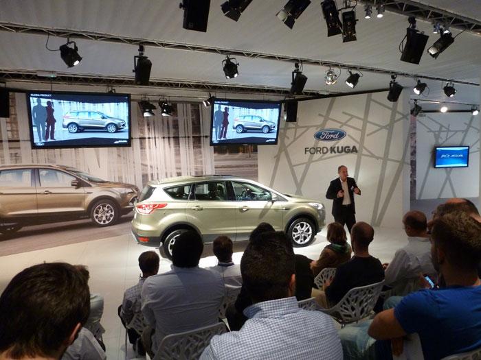 Ford Kuga. Presentación en la factoría de Almussafes