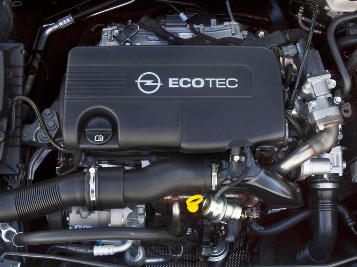 Opel Astra Sedán. Prueba de consumo. Motor