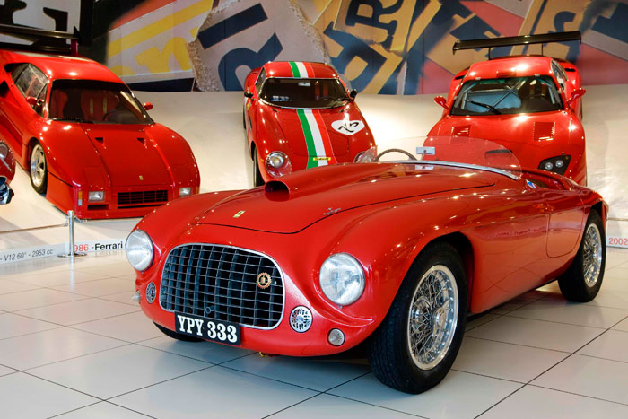 212 Export Touring Barchetta de 1951