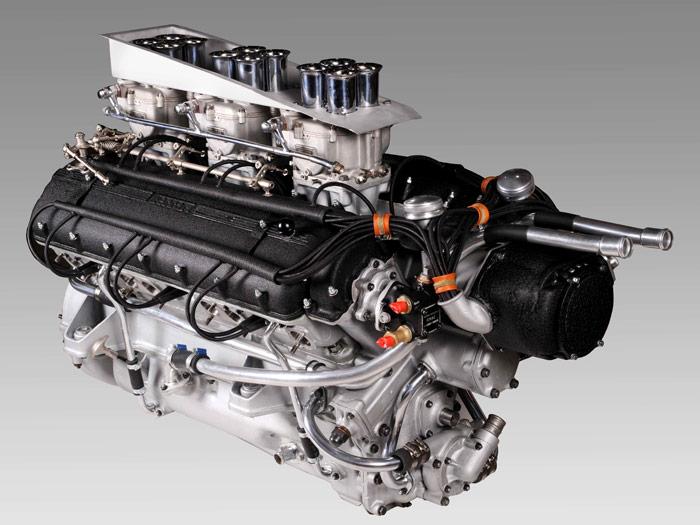 El motor del 375 Indy