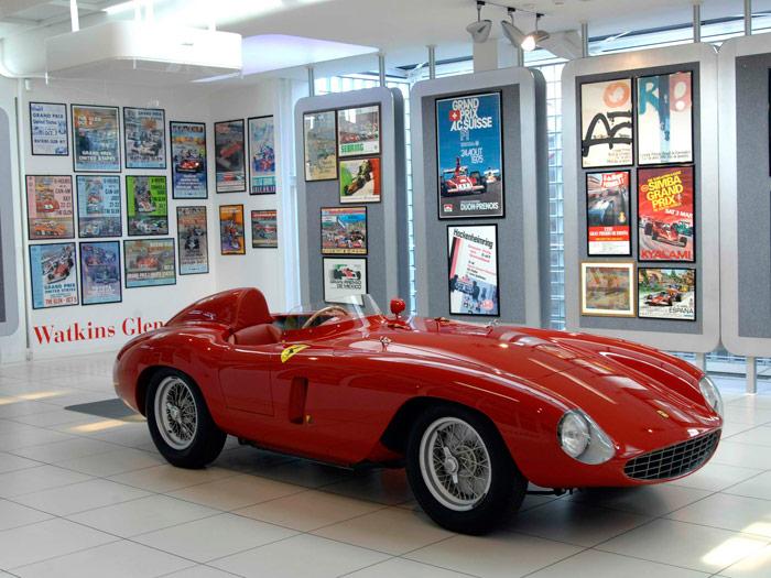 Belleza eterna: 750 Monza de 1954