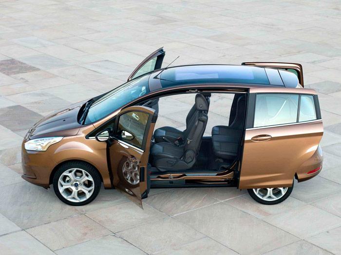 Ford B-MAX. Sin Pilar central