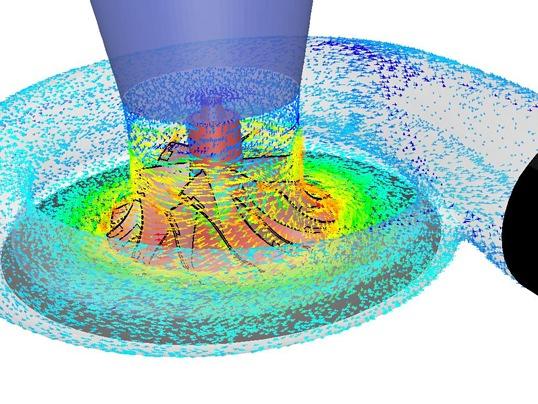 Análisis mediante computación de dinámica de fluidos