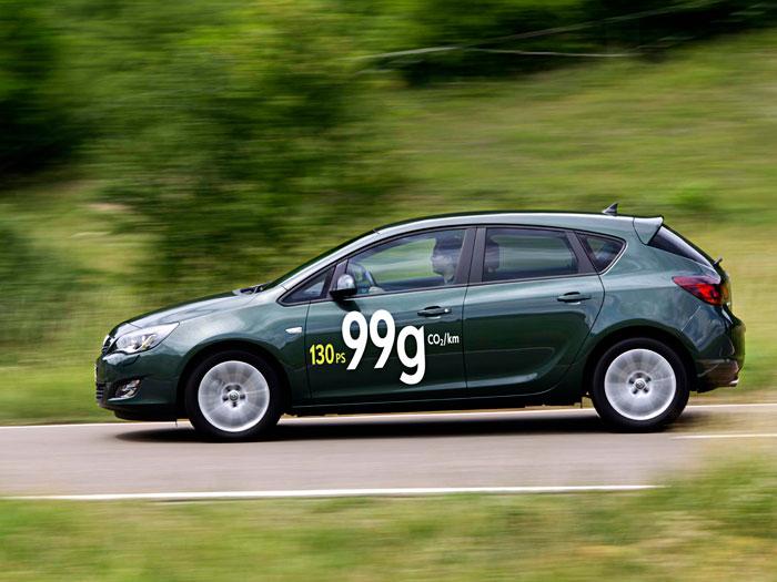 Opel Astra ecoFlex. Prueba de consumo. Movimiento