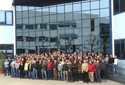 Más de 150 personas trabajan en la Cátedra de Motores Térmicos de la Universidad Politécnica de Valencia.