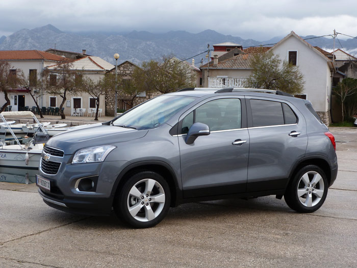 Chevrolet Trax. Imágenes interiores y detalles