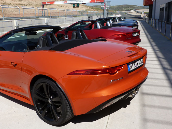 Jaguar F-Type. 2013. Circuito de Navarra