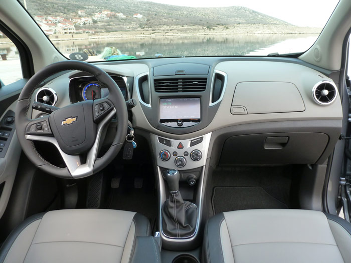Chevrolet Trax 2013. Interior. Acabado LT