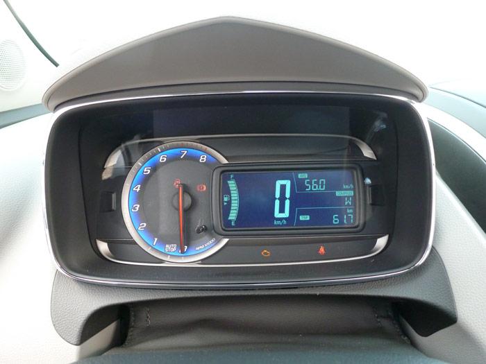Chevrolet Trax 2013. Cuadro de instrumentación