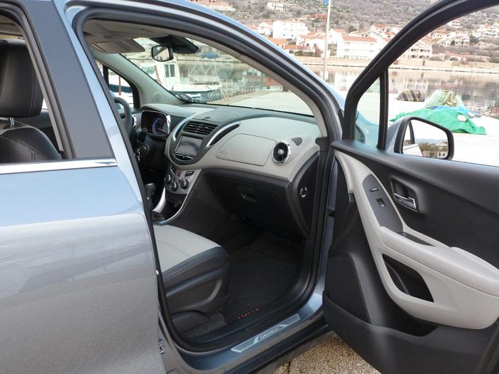 Chevrolet Trax 2013. Interior