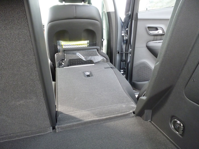 Chevrolet Trax 2013. Asientos abatidos
