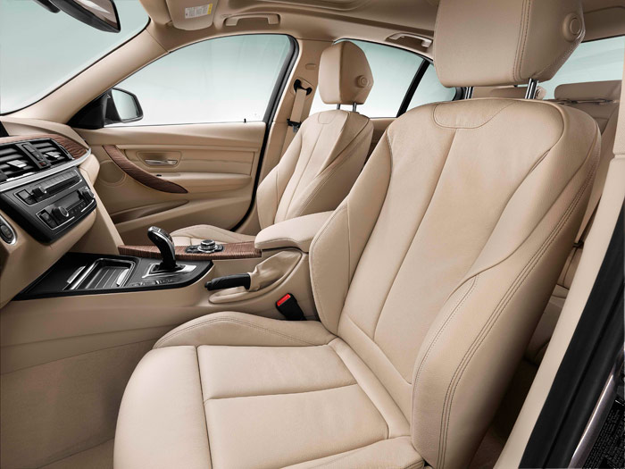 BMW 320d EfficientDynamics automático. Asientos