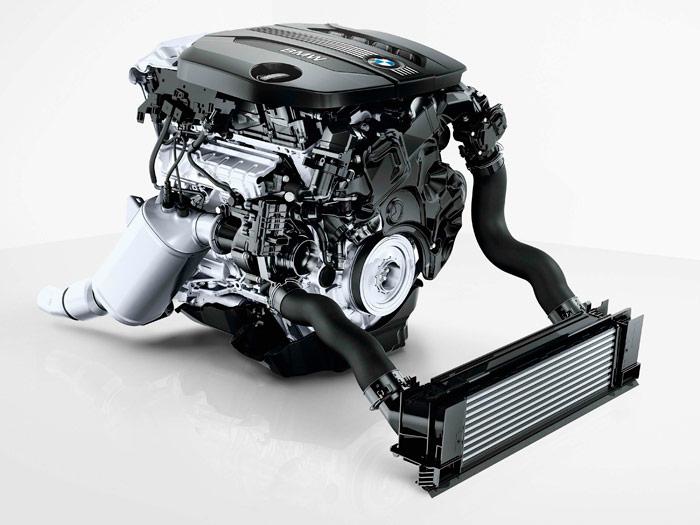 BMW 320d EfficientDynamics automático. Motor