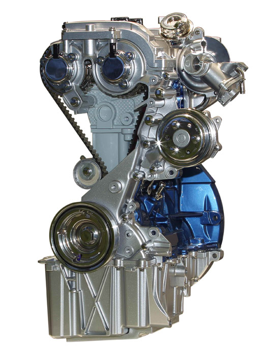 Ford Fiesta Sport 1.0 EcoBoost 125 CV. Motor