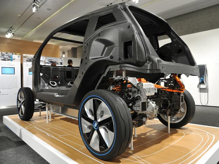 BMW i3. Fibra de carbono.