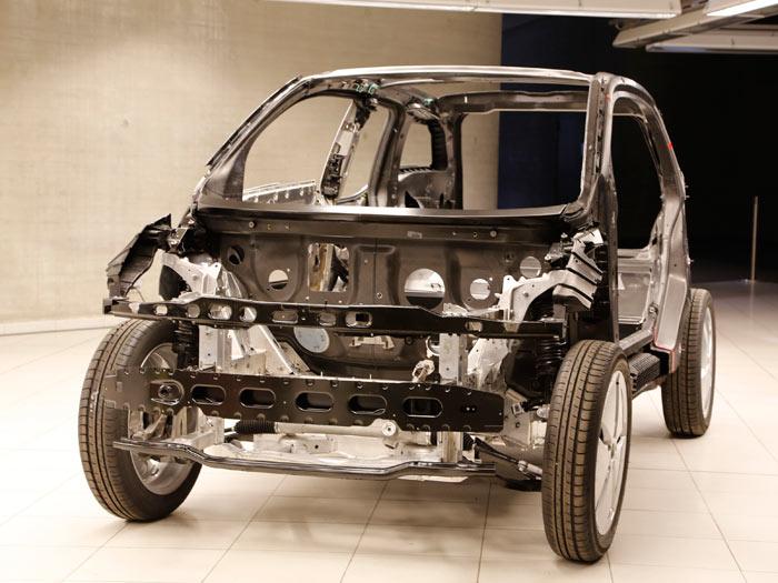 BMW i3. Motor eléctrico y baterías