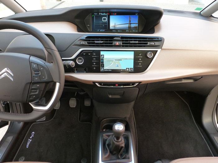 Citroën C4 Picasso THP 155 Exclusive. 2013. Salpicadero
