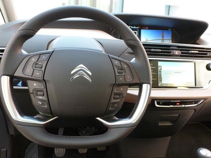 Citroën C4 Picasso THP 155 Exclusive. 2013. Volante