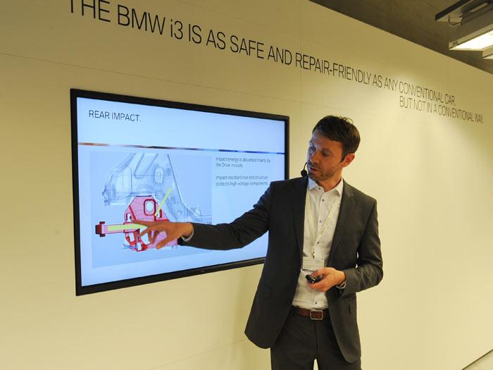 BMW i3. Seguridad